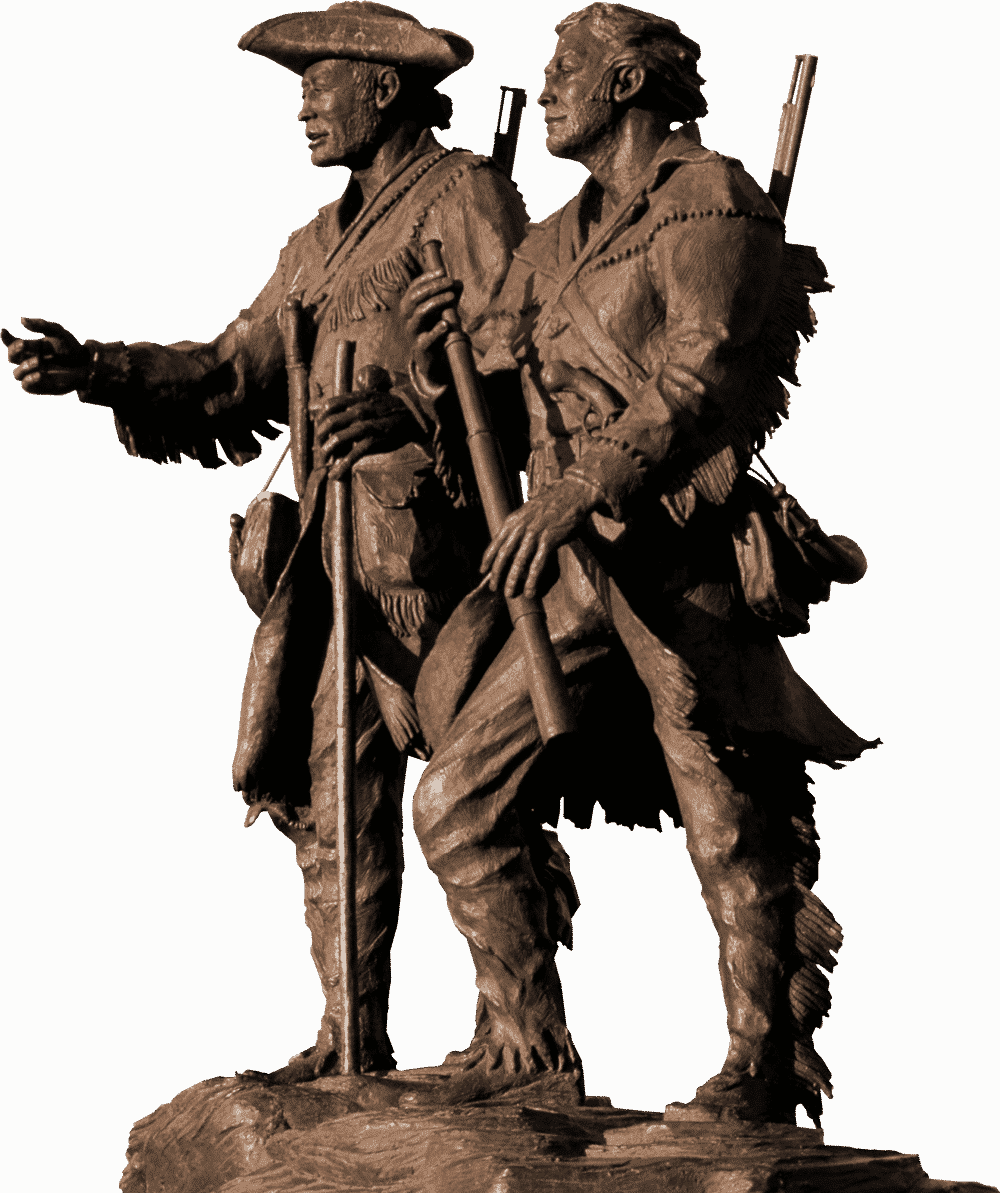 Lewis and Clark Statue.